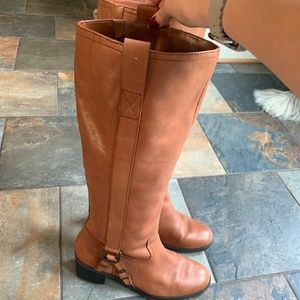 chestnut riding boots